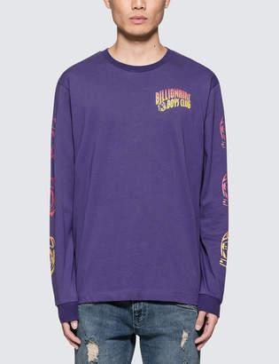 Billionaire Boys Club Gradient Helmet Print L/S T-Shirt