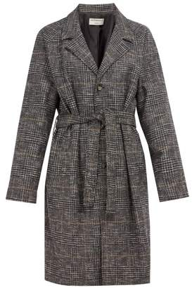 Éditions M.R editions M.r - Tristan Single Breasted Wool Blend Coat - Mens - Navy Multi