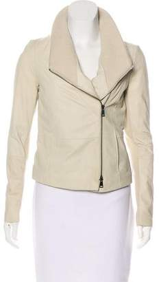 Vince Two-Way Leather Jacket