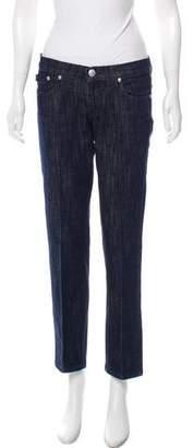 Rock & Republic Low-Rise Straight-Leg Jeans