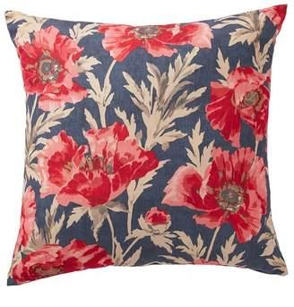 Pottery Barn Garden Botanical Indoor/Outdoor Pillow - Blue