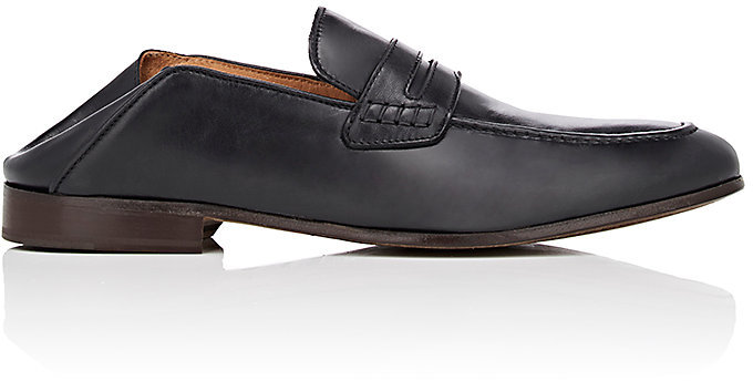 Barneys New York Barneys New York Men's Leather Penny Loafers