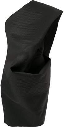 Rick Owens off-shoulder tunic dress