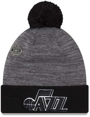 New Era Utah Jazz Pin Pom Knit Hat