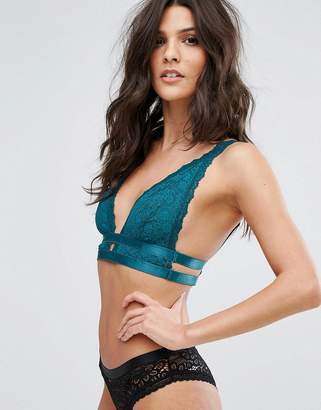 Free People Soft Triangle Bra with Strap Detailing