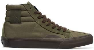 Vans green Vault cotton high top trainers