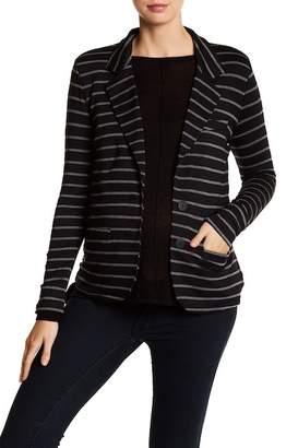 Tart Essential Notch Lapel Stripe Blazer (Maternity)