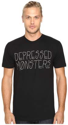 Depressed Monsters Logo Squiggly Tee T Shirt