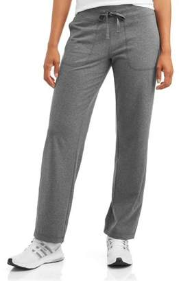 Athletic Works Women's Relaxed Fit Pant with Front Pockets