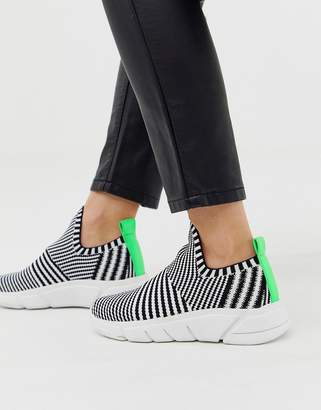 KENDALL + KYLIE Kendall Kylie Kendall Kylie slip on knit trainers