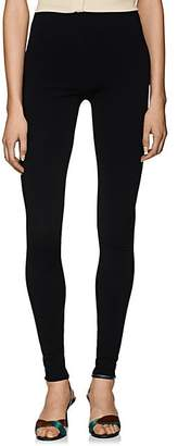 The Row Women's Vilin Crepe High-Waist Leggings - Black