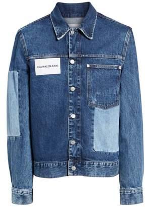 Calvin Klein Jeans Patch One-Pocket Denim Jacket