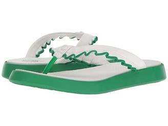 Tory Sport Ruffle Thong Sandal