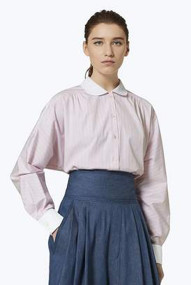 Marc Jacobs Cotton Button-Front Blouse