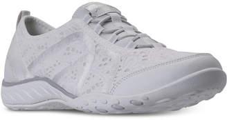 Skechers Women's Relaxed Fit: Breathe Easy - Elegant Glow Walking Sneakers from Finish Line