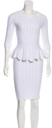 Jonathan Simkhai Long Sleeve Knee-Length Skirt Set