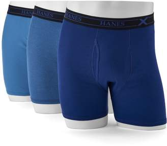 Hanes Men's 3-pack Ultimate X-Temp Comfort Dyed Boxer Briefs