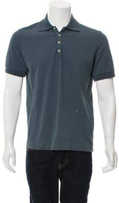 Massimo Alba Short Sleeve Polo Shirt