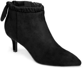 Aerosoles A2 BY  Womens Sacramento Kitten Heel Zip Dress Boots