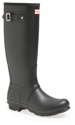 Women's Hunter 'Original Tall' Rain Boot $150 thestylecure.com