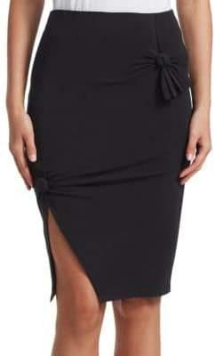 Helmut Lang Cotton Knot Skirt