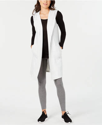 Ideology Sleeveless Hooded Wrap