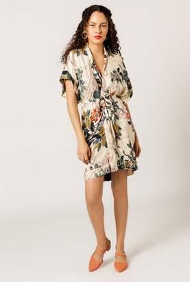 Azalea Floral Kimono Dress