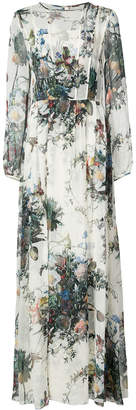 ADAM by Adam Lippes floral print A-line gown