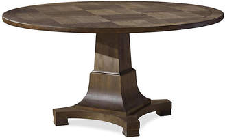 "One Kings Lane Concord 58"" Round Dining Table - Umber"