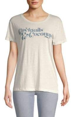 Chaser Cocktails and Coconuts Tee