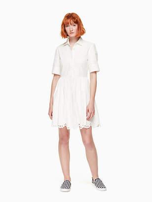 Kate Spade Cutwork denim dress
