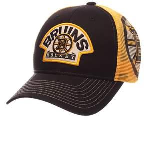 Zephyr Adult Boston Bruins Interstate Snapback Cap