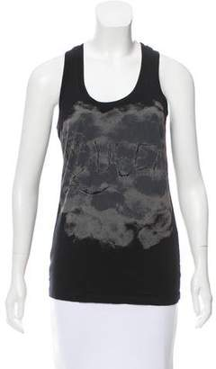 MC2 Saint Barth Graphic Sleeveless Top