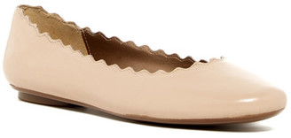 VANELi Baft Scalloped Flat - Wide Width Available $120 thestylecure.com