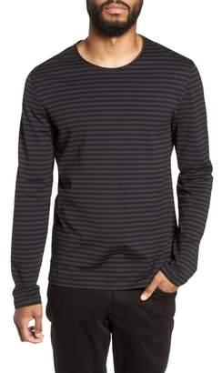 Vince Double Stripe Long Sleeve T-Shirt