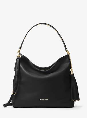 Michael Kors Brooklyn Large Leather Shoulder Bag