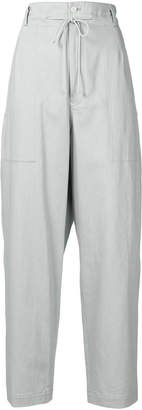 Y's high waist wide leg trousers