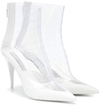 Stella McCartney Transparent ankle boots
