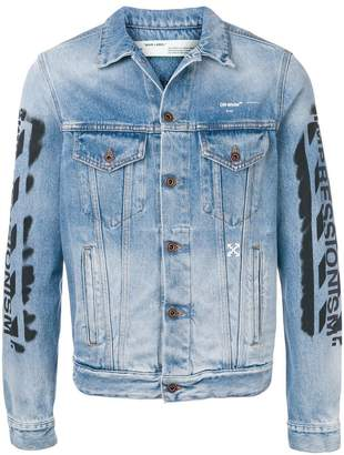 Off-White 'impressionism' denim jacket