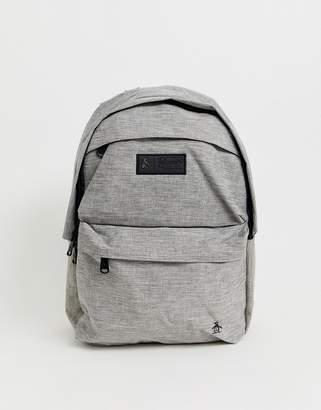 backpack in grey