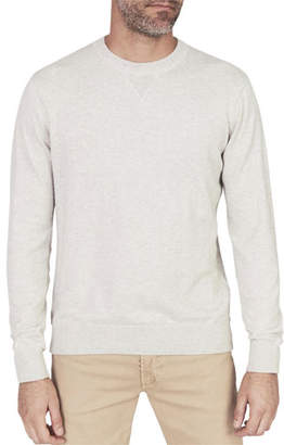 Faherty Men's Sconset Cotton/Cashmere Crewneck Sweater