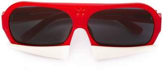 Linda Farrow Gallery Walter Van Beirendonck x Linda Farrow sunglasses