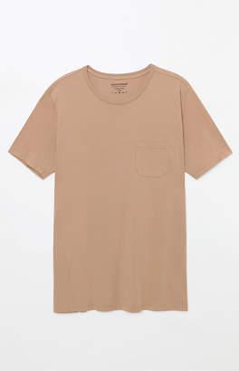 GUESS Richer Poorer Tan Pocket T-Shirt