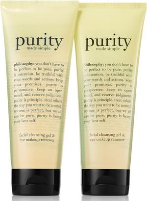 philosophy purity foaming cleansing gel duo