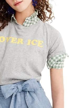 J.Crew Over Ice Tee