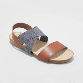 Universal Thread Women's Kerryn Elastic Strap Footbed Slide Sandals