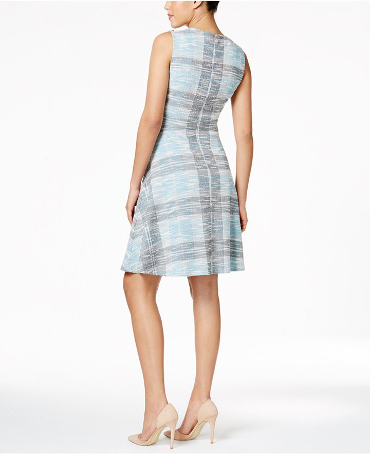 Tommy Hilfiger Tweed A-Line Dress 2