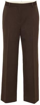 The Row Ina straight-leg wool pants