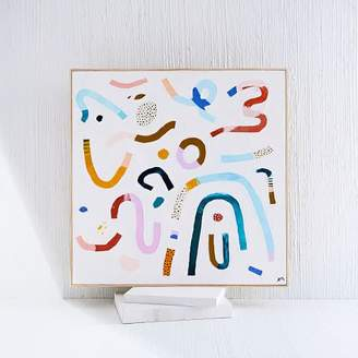 west elm Ashley Mary Art Limited-Edition Painting - Multi-Colored