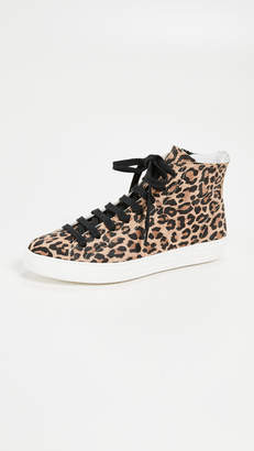D.E.P.T ONE by of Finery Lace Up Leopard Sneakers